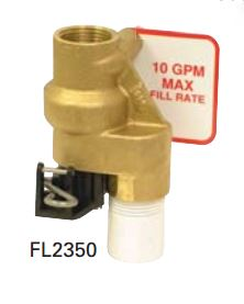 FL2350 - Fleck 2350 Commercial Safety Valve Less Float